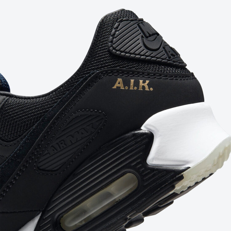 Nike Air Max 90 AIK Fotboll Black Gold DJ4602 001 10 750x750