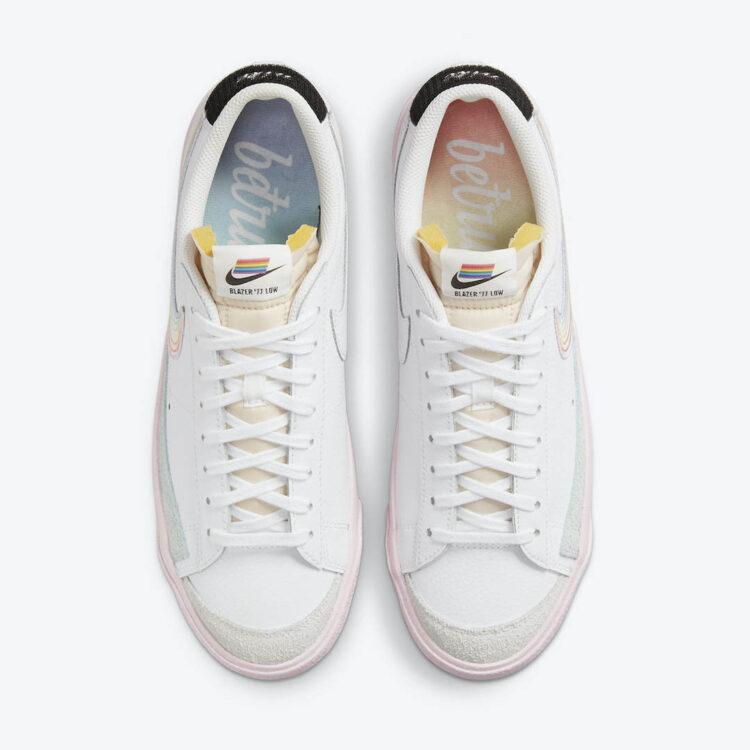 """Nike Blazer Low """"Be True"""" DD3034-100"""