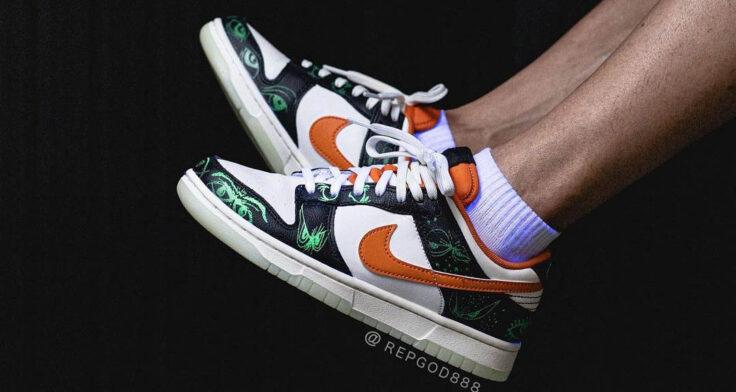 "Nike Dunk Low PRM ""Halloween"" DD3357-100"