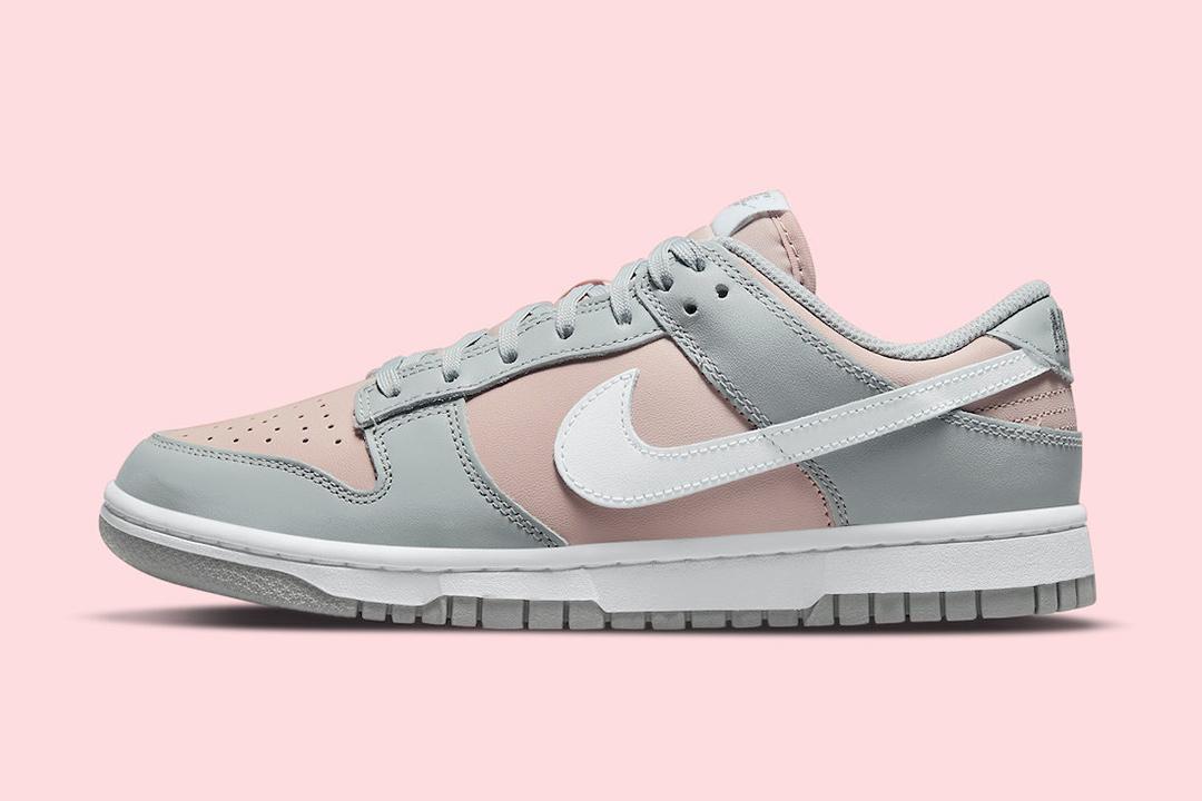 Nike Dunk Low Pink Grey DM8329 600 Lead