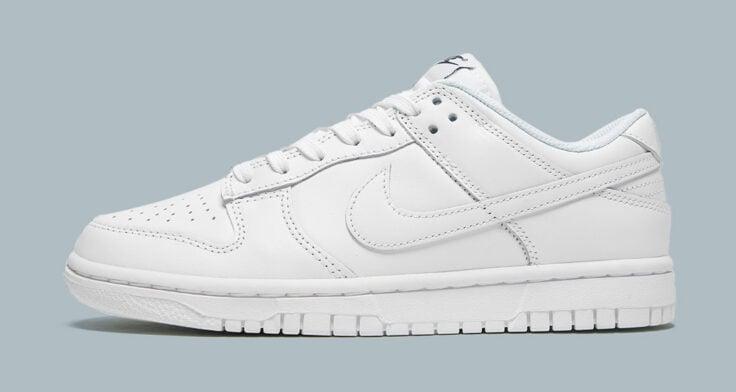 """Nike Dunk Low """"Triple White"""""""