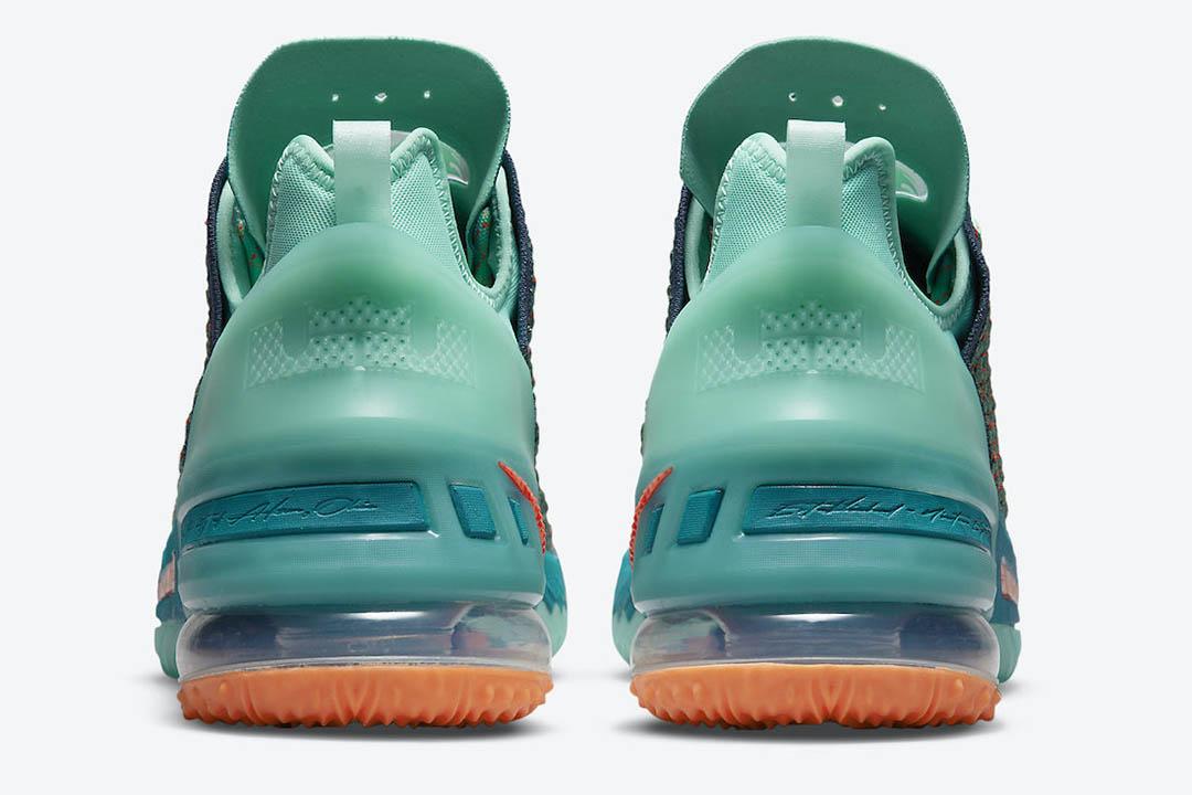 Nike LeBron 18 We Are Family CQ9283 300 04
