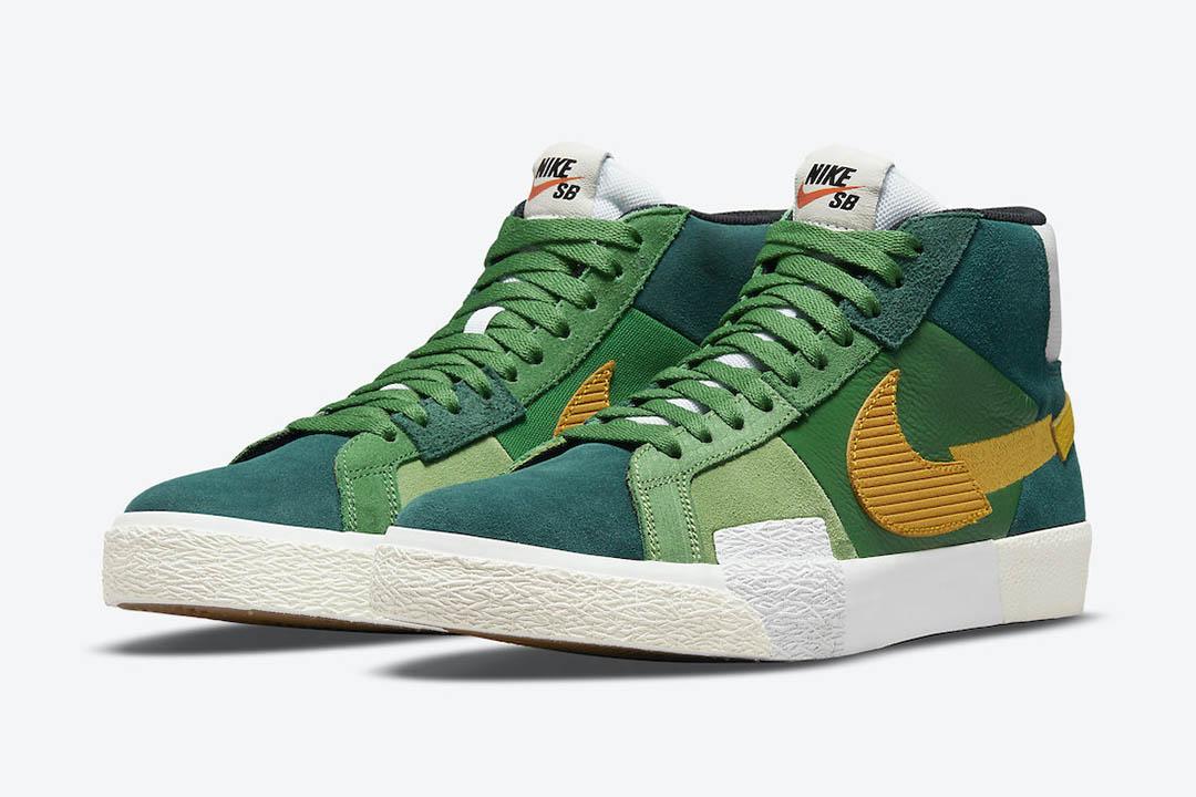 Nike SB Blazer Mid Mosaic DA8854 300 01