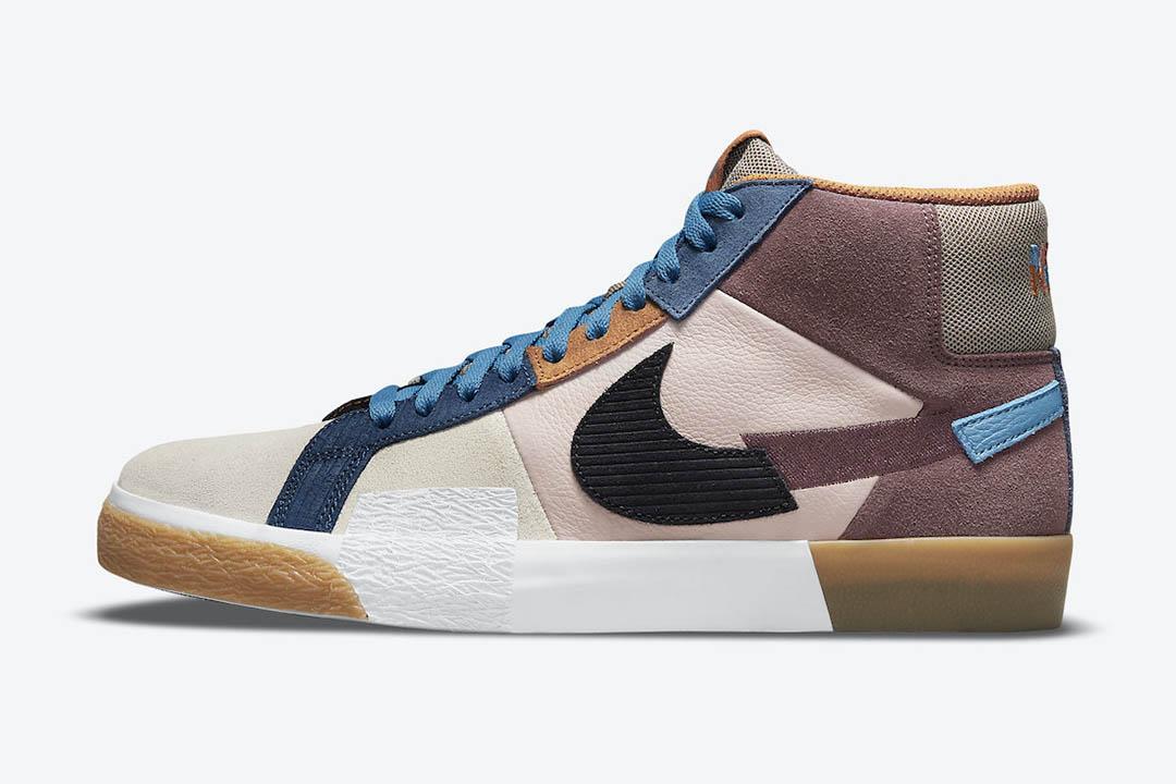 Nike SB Blazer Mid Mosaic DA8854 600 00