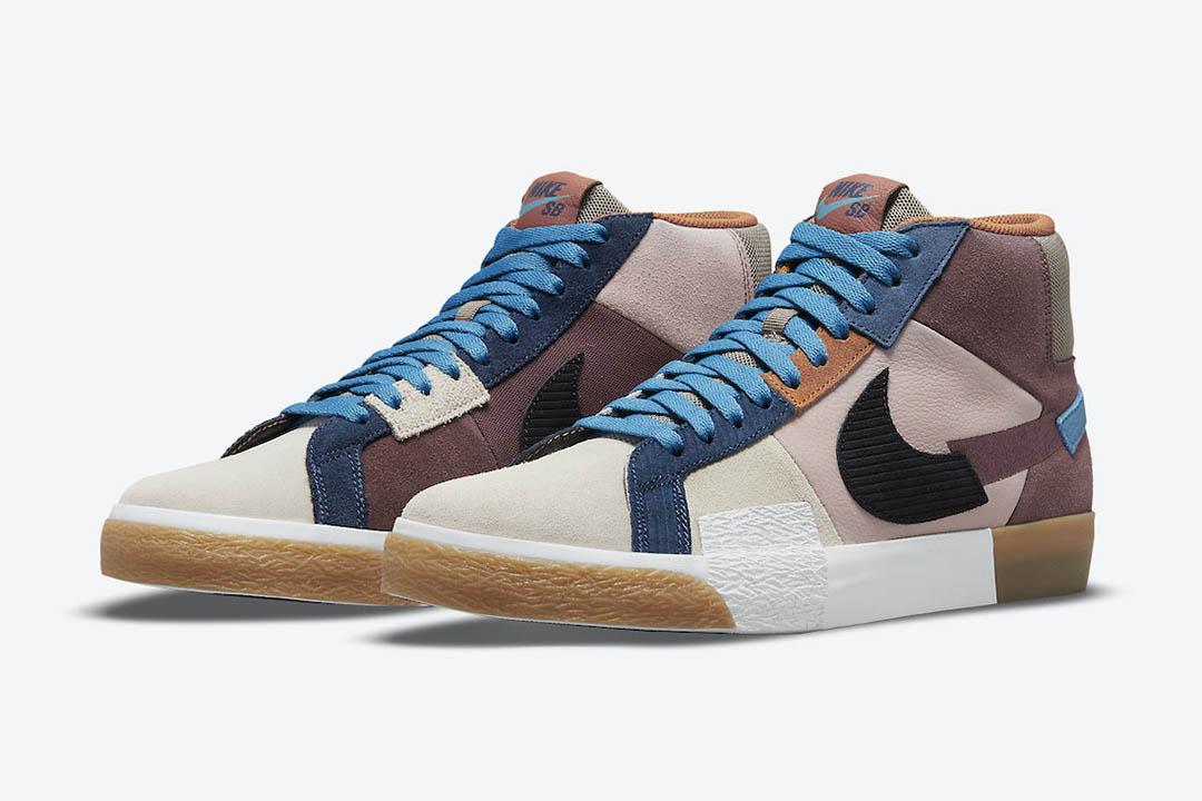 Nike SB Blazer Mid Mosaic DA8854 600 01
