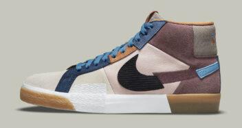 """Nike SB Blazer Mid """"Mosaic"""" DA8854-600"""