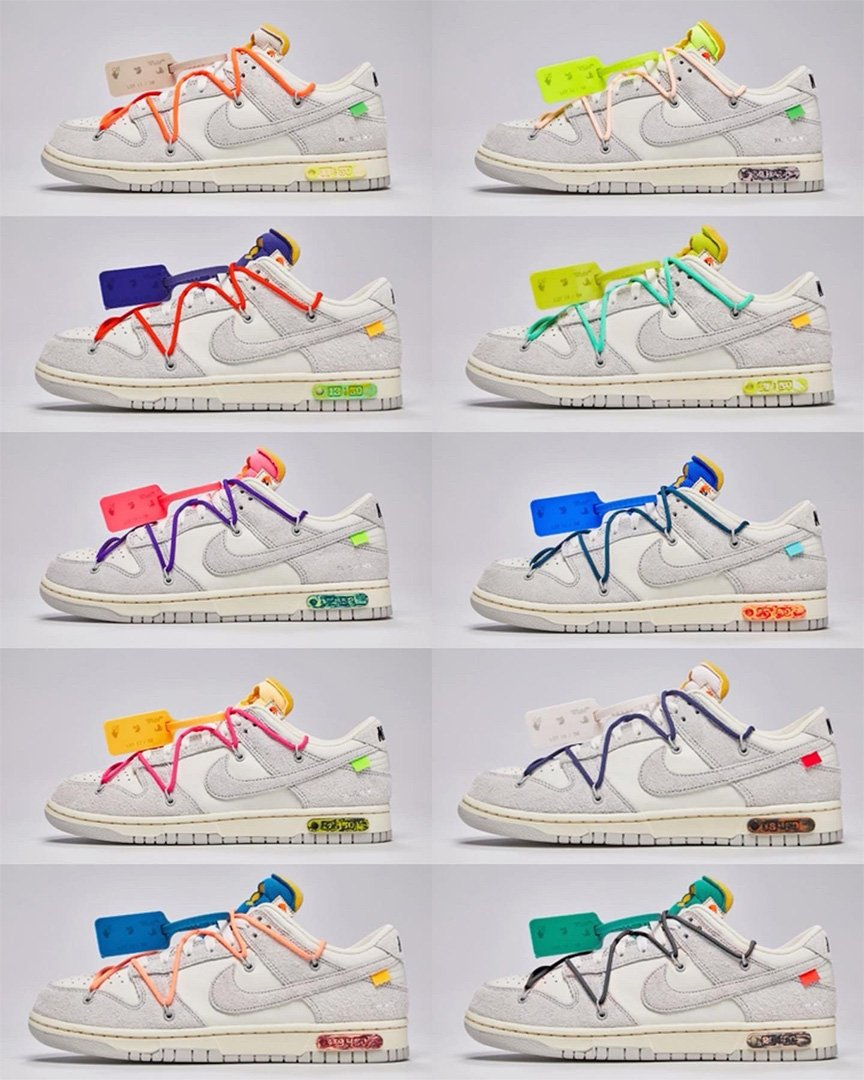 Off White Nike Dunk Low Dear Summer Collection 15