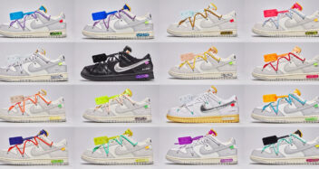 """Off-White x Nike Dunk Low """"Dear Summer"""" Collection"""