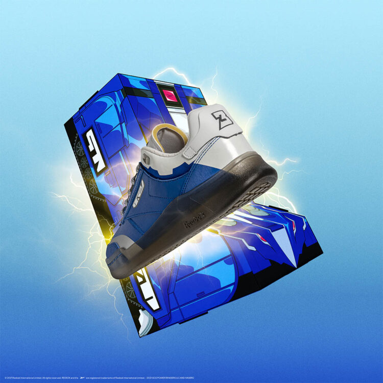 "Power Rangers x Reebok Club C Legacy ""Blue Ranger"""