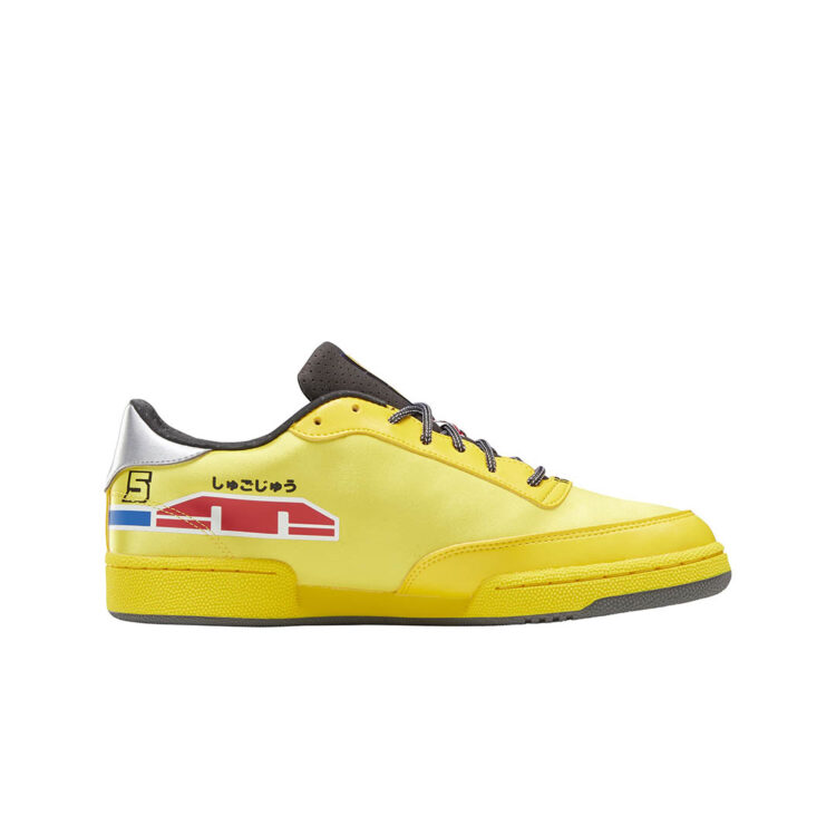 "Power Rangers x Reebok Club C ""Yellow Ranger"" GW2424"