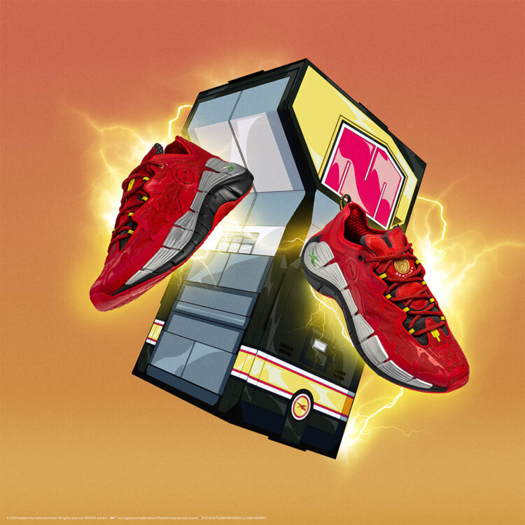 "Power Rangers x Reebok Zig Kinetica ""Red Ranger"" GY0492"