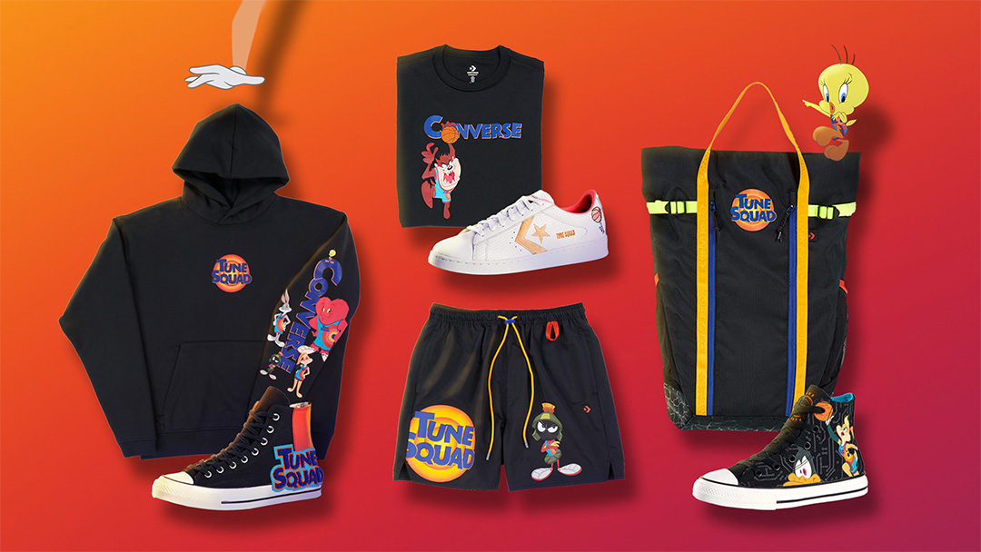 Space Jam: A New Legacy x Nike & Converse Apparel Collection