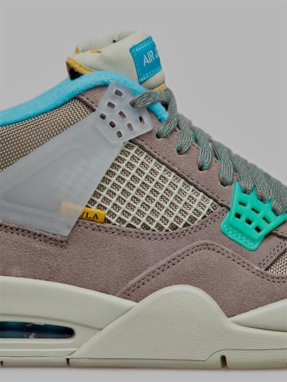 "Union LA x Air Jordan 4 ""Taupe Haze"" DJ5718-242"