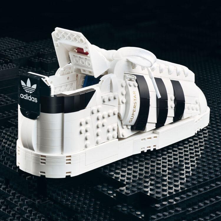 LEGO x adidas Superstar Brick