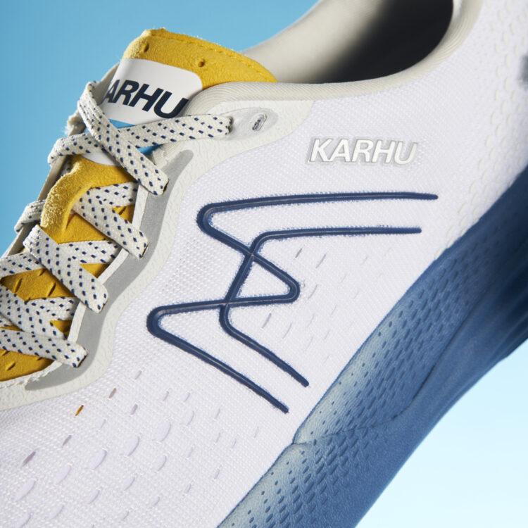 """Karhu Sun Run Ikoni F100316 """"White/Golden Rod"""""""