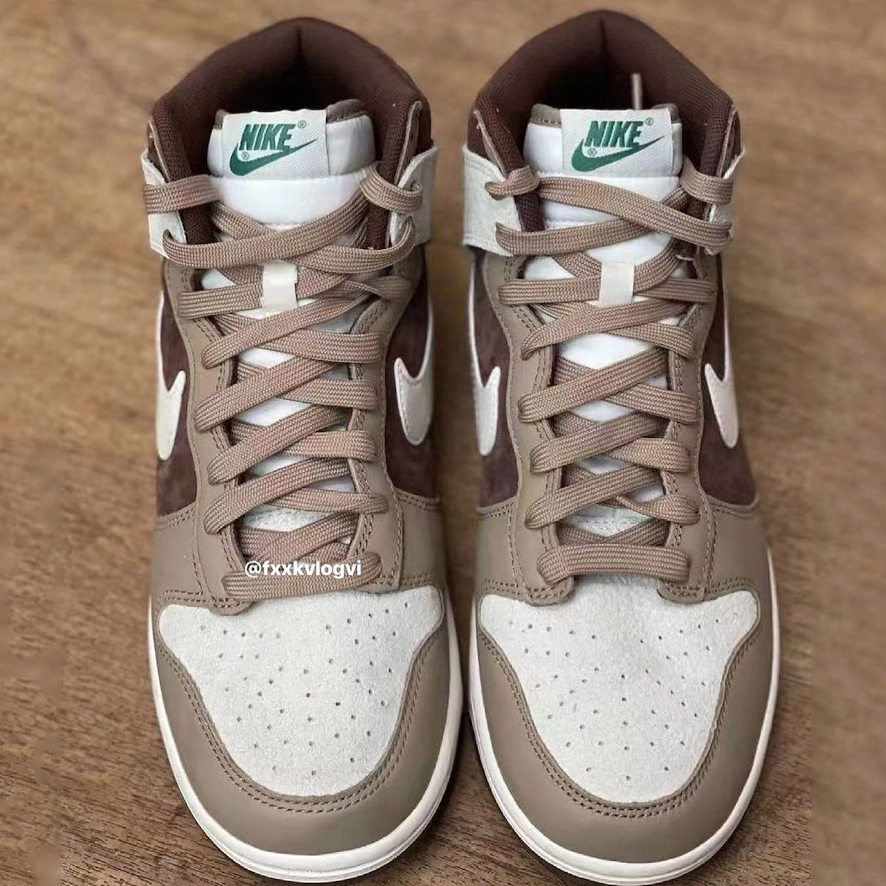 nike dunk high light chocolate dh5348 100 release date 001