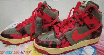 "Nike Dunk High ""Red Camo""/"