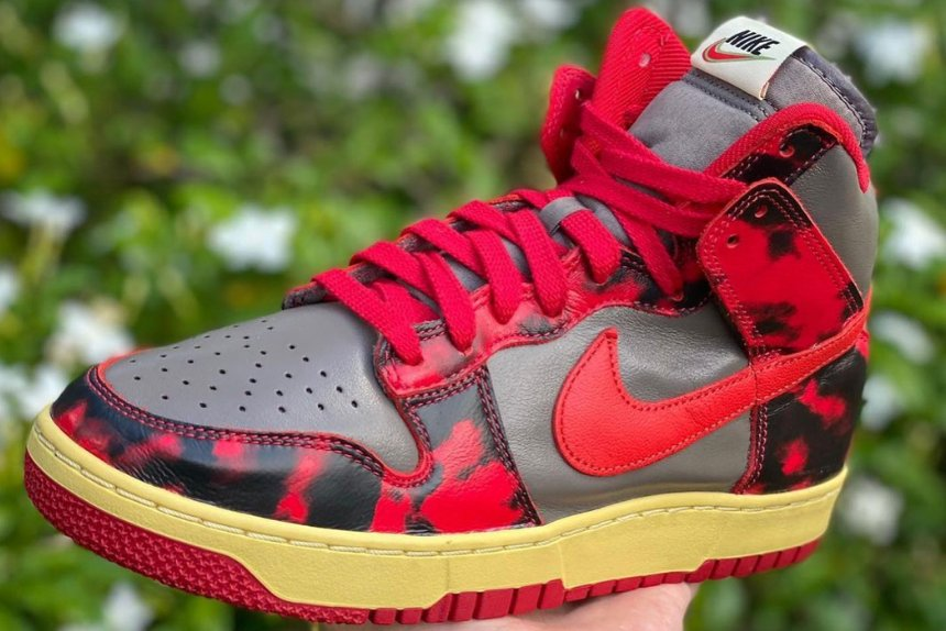 nike dunk high red camo undercover 2021 release date 06