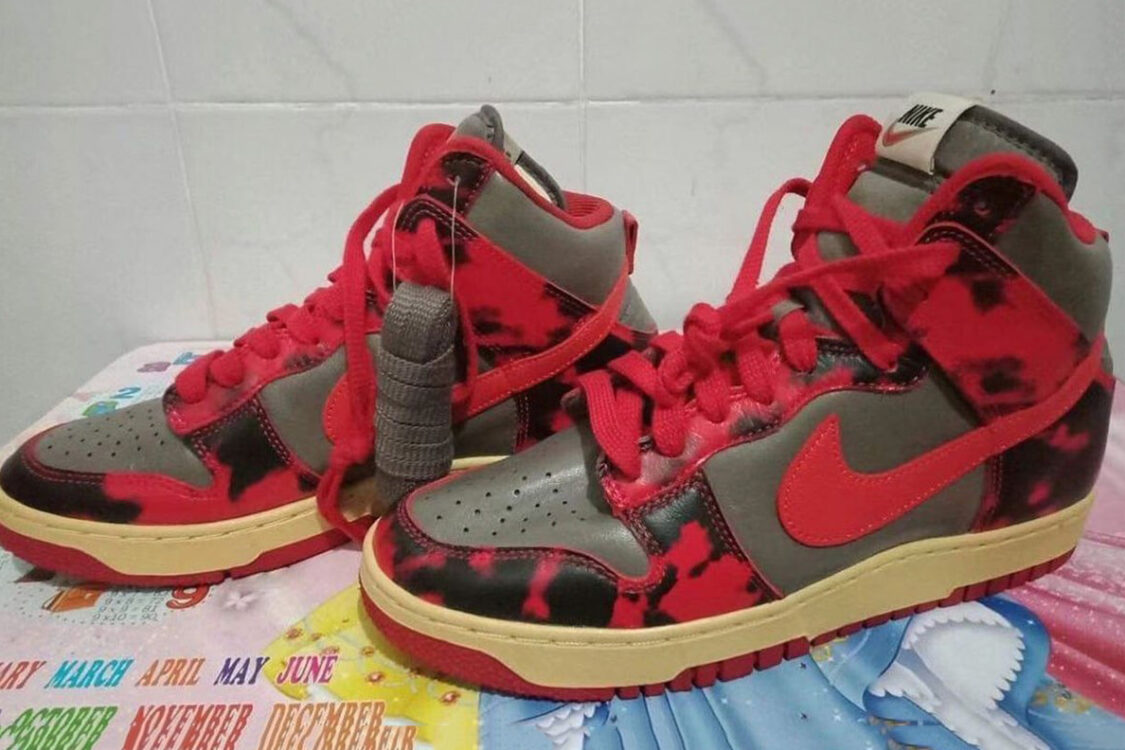 nike dunk high red camo undercover 2021 release date 1 1125x750
