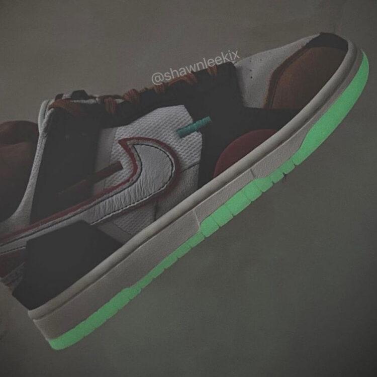 "Nike Dunk Scrap Low ""Glow"""