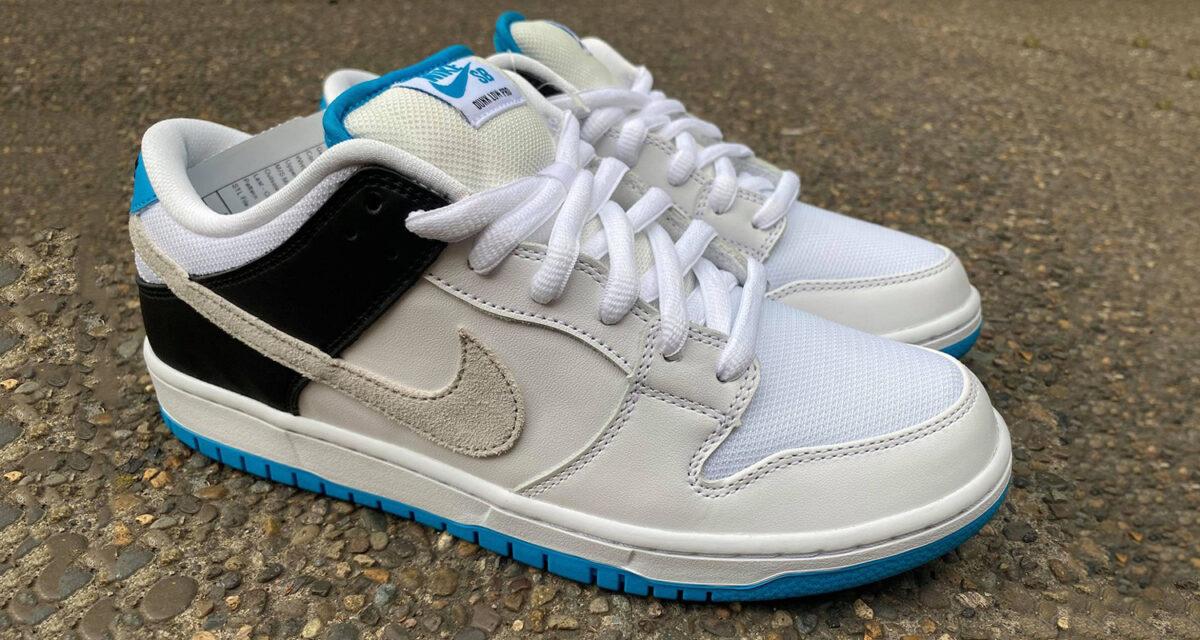 "Nike SB Dunk Low ""Neutral Grey / Laser Blue"""