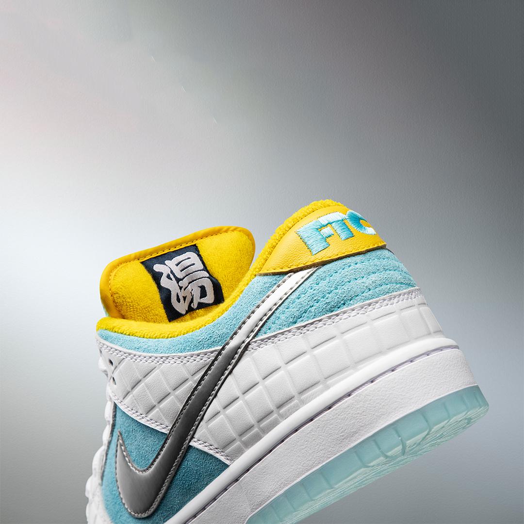 FTC Nike SB Dunk Low DH7687 400 11