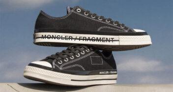 Fragment Design x Moncler x Converse Chuck 70