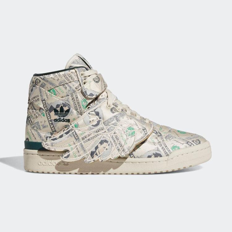 "Jeremy Scott x adidas Forum Wings 1.0 ""Money"" Q46154"