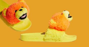 "Jeremy Scott x adidas Adilette Slide ""JS Bear"" Q46582"