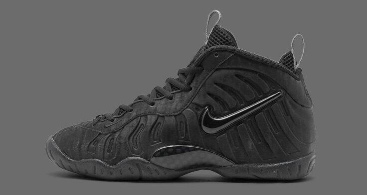 "Nike Little Posite Pro ""Black Cat"" 644792-014"