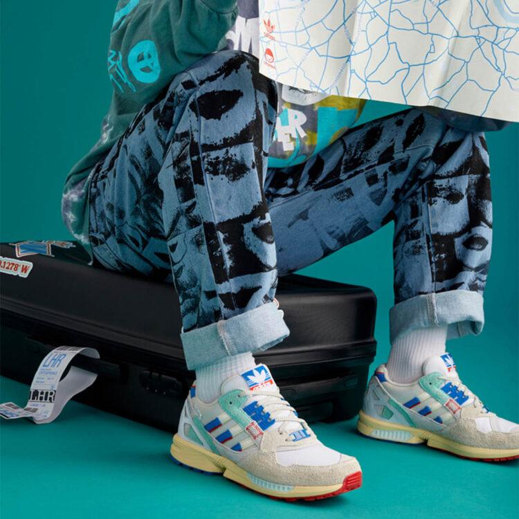 "Offspring x adidas ""LDN To LA"" ZX 9000"