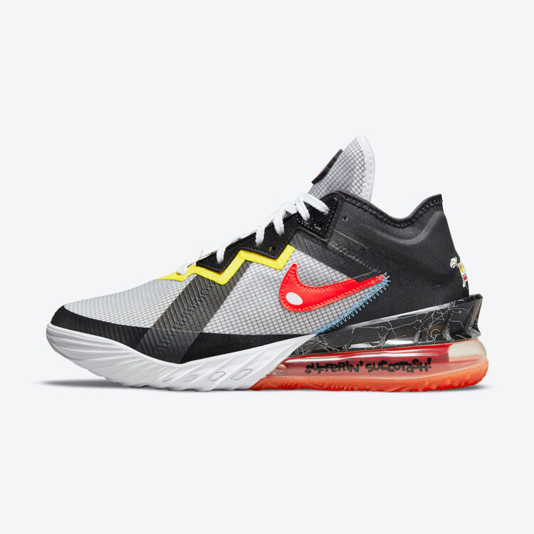 Space Jam Nike LeBron 18 Low Sylvester Tweety CV7562 103 02 750x750