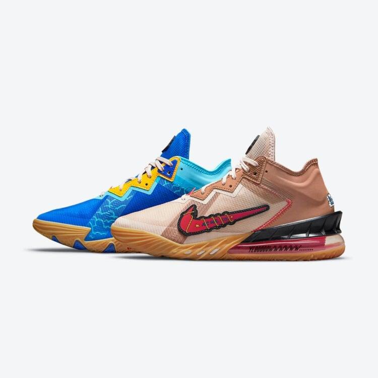 Space Jam Nike LeBron 18 Low Wile E Roadrunner CV7562 401 02 750x750 1