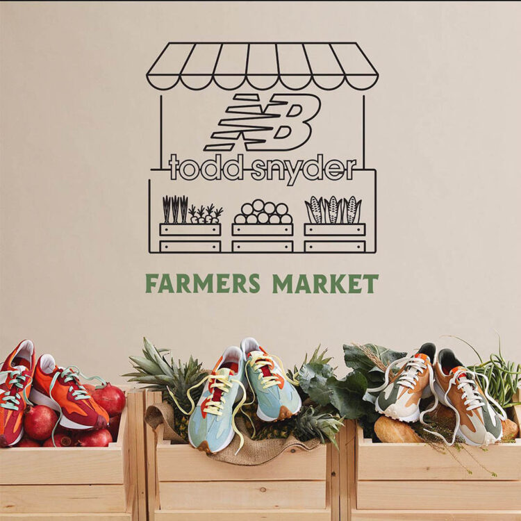 """Todd Snyder x New Balance 327 """"Farmers Market"""" Pack"""