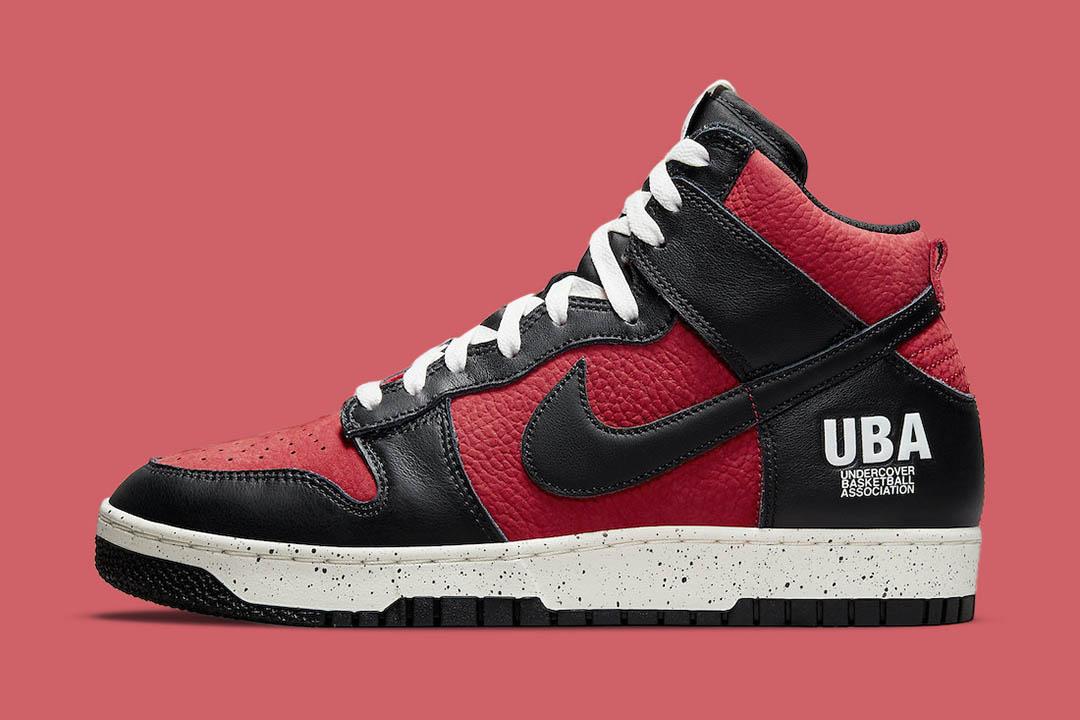 "Undercover x Nike Dunk High ""UBA"" DD9401-600"