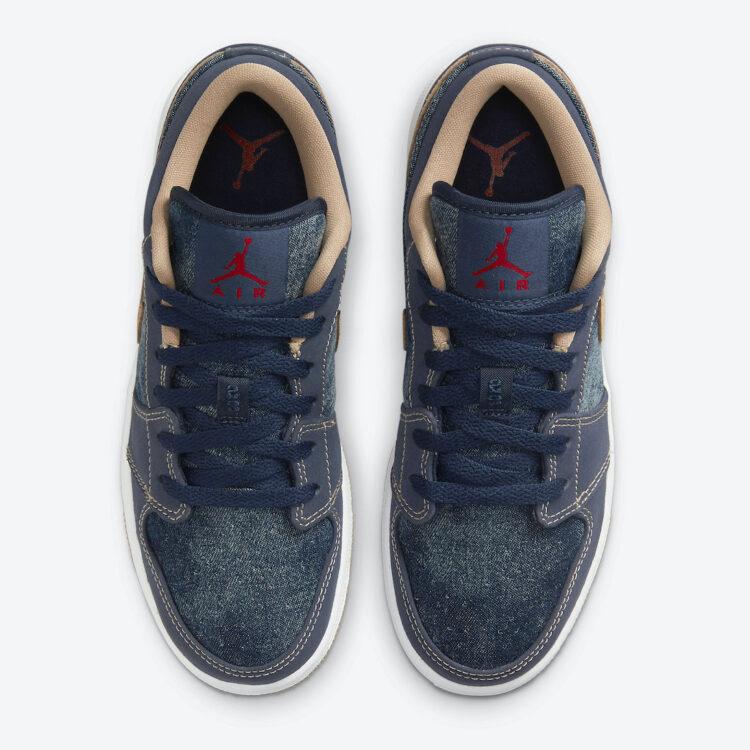 """Air Jordan 1 Low """"Denim"""" DM4692-400"""