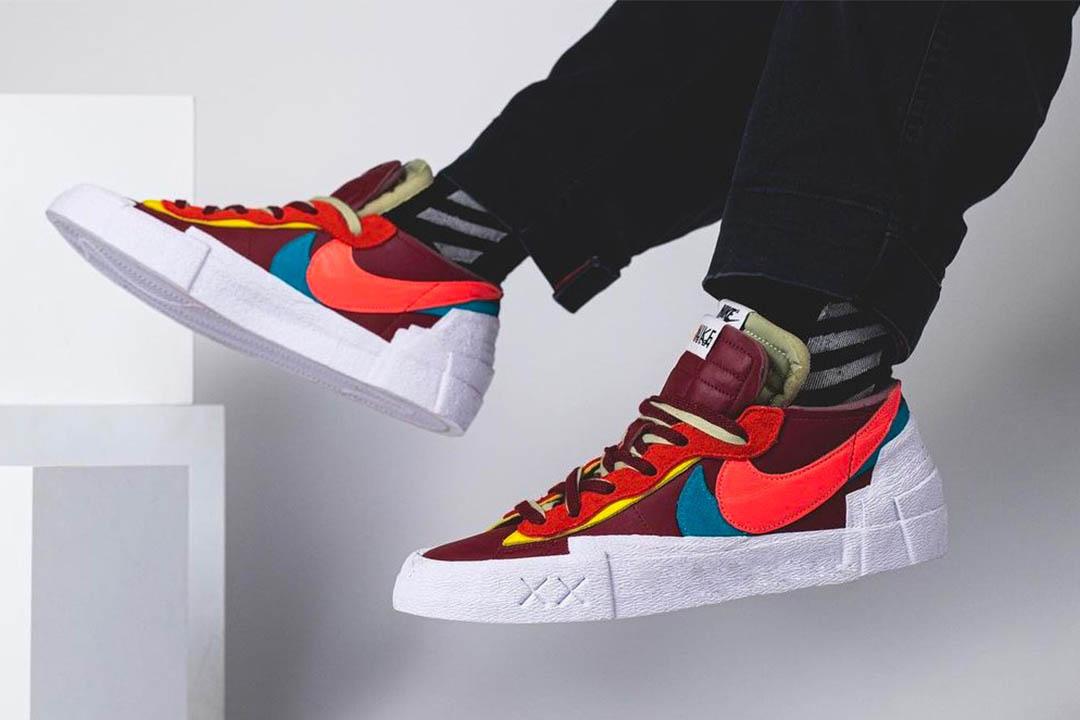 Kaws x sacai x Nike Blazer Low DM7901-600