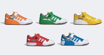 M&M's x adidas Forum Low collection