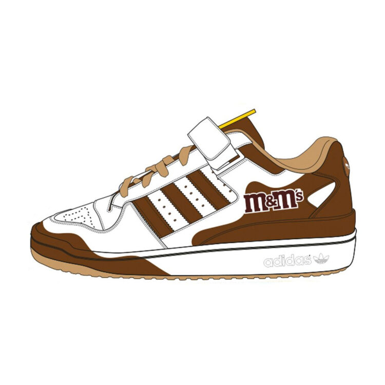M&M's x adidas Forum Low GY6313