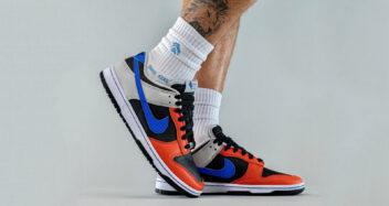 """NBA x Nike Dunk Low EMB """"Knicks"""" DD3363-002"""