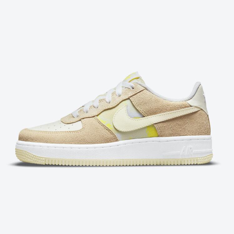 """Nike Air Force 1 Low GS """"Lemon Drop"""" DM9476-700"""