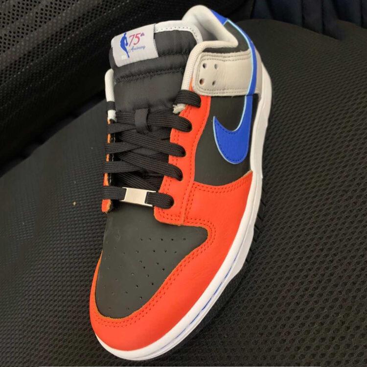 """NBA x Nike Dunk Low EMB """"75th Anniversary"""" DD3363-002"""