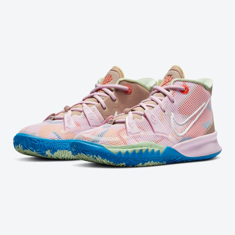 """Nike Kyrie 7 GS """"1 World 1 People"""" CT4080-600"""
