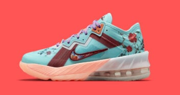 """Nike LeBron 18 Low GS """"Floral"""" DN4177-400"""