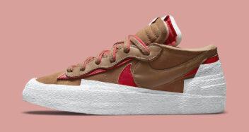 "sacai x Nike Blazer Low ""Light British Tan"" DD1877-200"