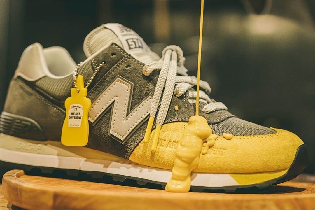 the apartment new balance mustard drip release date 01