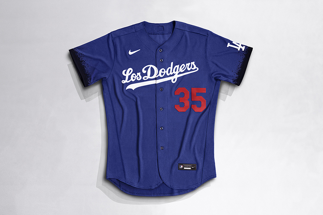 MLB City Connect x Nike Los Angeles Dodgers Jersey