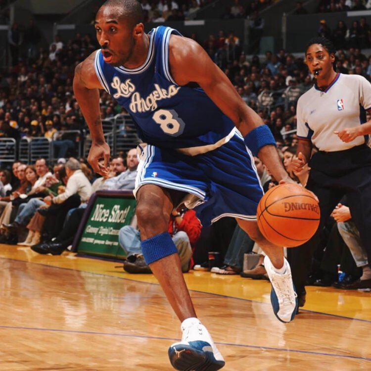 Meet the App that will let You Buy a Share of Kobe Bryant's Game-Worn French Blue Air Jordan 12 Retros
