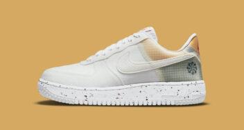 "Nike Air Force 1 Crater ""White Orange"" DH2521-100"