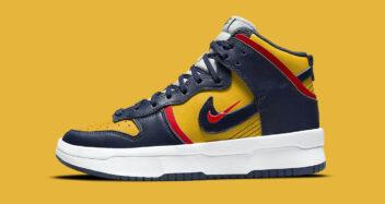"Nike Dunk High Rebel ""Michigan"" DH3718-701"
